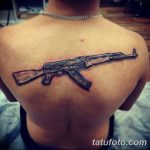 Фото тату автомат 25.08.2018 №041 - tattoo machine gun - tatufoto.com