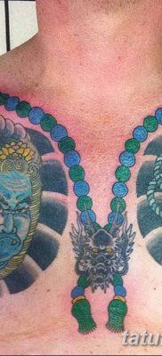 Фото тату бусы 25.08.2018 №003 – tattoo beads – tatufoto.com