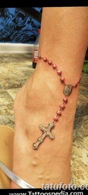 Фото тату бусы 25.08.2018 №004 – tattoo beads – tatufoto.com