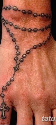 Фото тату бусы 25.08.2018 №012 – tattoo beads – tatufoto.com