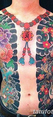Фото тату бусы 25.08.2018 №013 – tattoo beads – tatufoto.com