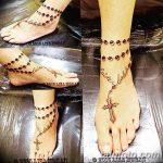 Фото тату бусы 25.08.2018 №122 - tattoo beads - tatufoto.com