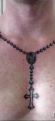 Фото тату бусы 25.08.2018 №139 – tattoo beads – tatufoto.com