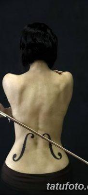 Фото тату виолончель от 04.08.2018 №009 – tattoo cello – tatufoto.com