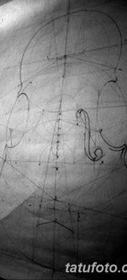 Фото тату виолончель от 04.08.2018 №012 – tattoo cello – tatufoto.com
