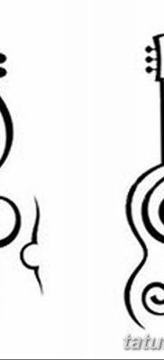 Фото тату виолончель от 04.08.2018 №019 – tattoo cello – tatufoto.com