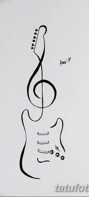 Фото тату виолончель от 04.08.2018 №023 – tattoo cello – tatufoto.com