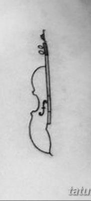 Фото тату виолончель от 04.08.2018 №041 – tattoo cello – tatufoto.com