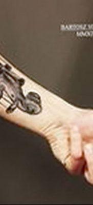 Фото тату виолончель от 04.08.2018 №044 – tattoo cello – tatufoto.com