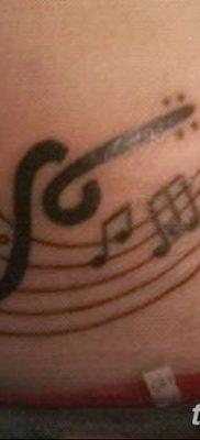 Фото тату виолончель от 04.08.2018 №065 – tattoo cello – tatufoto.com