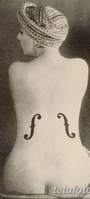 Фото тату виолончель от 04.08.2018 №074 – tattoo cello – tatufoto.com