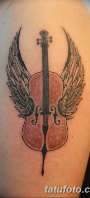 best tattoo design ever Awesome best tattoo EVER cello Harmonics