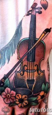 Фото тату виолончель от 04.08.2018 №094 – tattoo cello – tatufoto.com