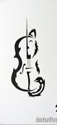 Фото тату виолончель от 04.08.2018 №139 – tattoo cello – tatufoto.com