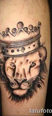 Фото тату голова льва от 08.08.2018 №008 – tattoo head of a lion – tatufoto.com