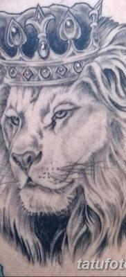 Фото тату голова льва от 08.08.2018 №018 – tattoo head of a lion – tatufoto.com