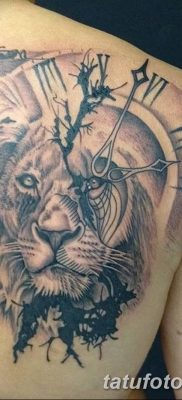 Фото тату голова льва от 08.08.2018 №021 – tattoo head of a lion – tatufoto.com