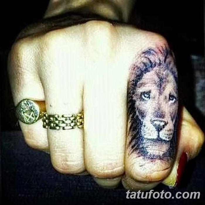 Фото тату голова льва от 08.08.2018 №133 - tattoo head of a lion - tatufoto.com