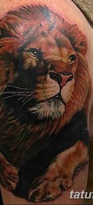 Lion Head Tattoo Designs On Sleeve