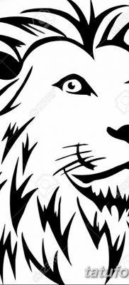 Фото тату голова льва от 08.08.2018 №184 – tattoo head of a lion – tatufoto.com
