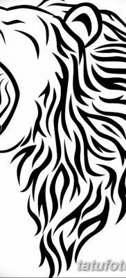 Фото тату голова льва от 08.08.2018 №186 – tattoo head of a lion – tatufoto.com