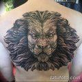Фото тату голова льва от 08.08.2018 №190 - tattoo head of a lion - tatufoto.com