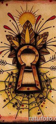 Фото тату замочная скважина 25.08.2018 №001 – keyhole tattoo – tatufoto.com