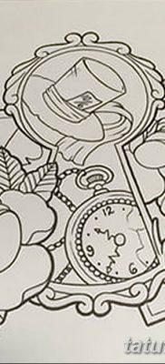 Фото тату замочная скважина 25.08.2018 №007 – keyhole tattoo – tatufoto.com