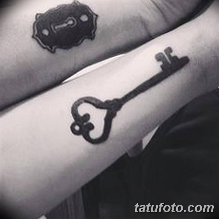 Фото тату замочная скважина 25.08.2018 №014 - keyhole tattoo - tatufoto.com