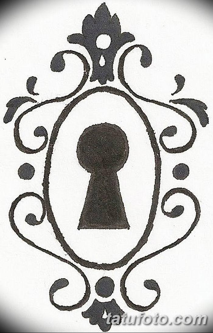 alice in wonderland keyhole clipart - 471×735