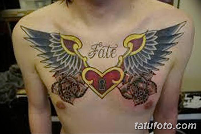 Фото тату замочная скважина 25.08.2018 №103 - keyhole tattoo - tatufoto.com