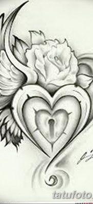 Фото тату замочная скважина 25.08.2018 №104 – keyhole tattoo – tatufoto.com