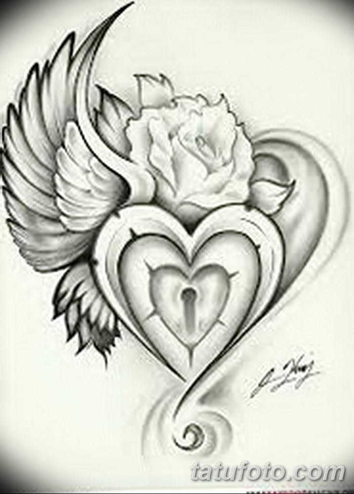 Фото тату замочная скважина 25.08.2018 №104 - keyhole tattoo - tatufoto.com
