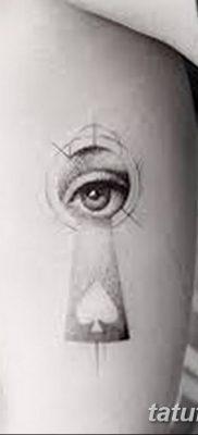 Фото тату замочная скважина 25.08.2018 №105 – keyhole tattoo – tatufoto.com