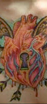Фото тату замочная скважина 25.08.2018 №107 – keyhole tattoo – tatufoto.com