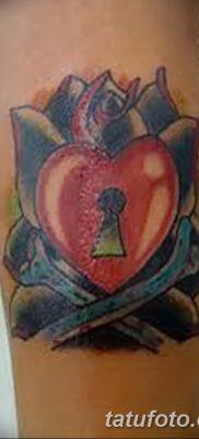 Фото тату замочная скважина 25.08.2018 №109 – keyhole tattoo – tatufoto.com