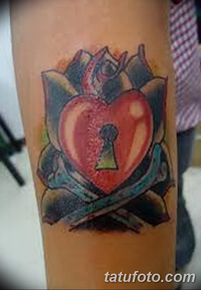 Фото тату замочная скважина 25.08.2018 №109 - keyhole tattoo - tatufoto.com