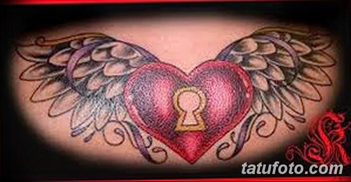 Фото тату замочная скважина 25.08.2018 №111 - keyhole tattoo - tatufoto.com
