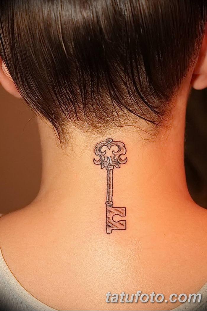 Фото тату замочная скважина 25.08.2018 №125 - keyhole tattoo - tatufoto.com