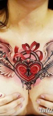 Фото тату замочная скважина 25.08.2018 №127 – keyhole tattoo – tatufoto.com