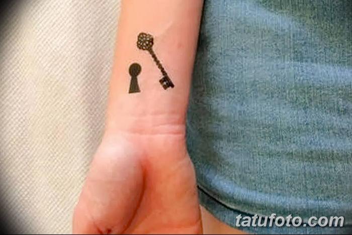 Фото тату замочная скважина 25.08.2018 №128 - keyhole tattoo - tatufoto.com