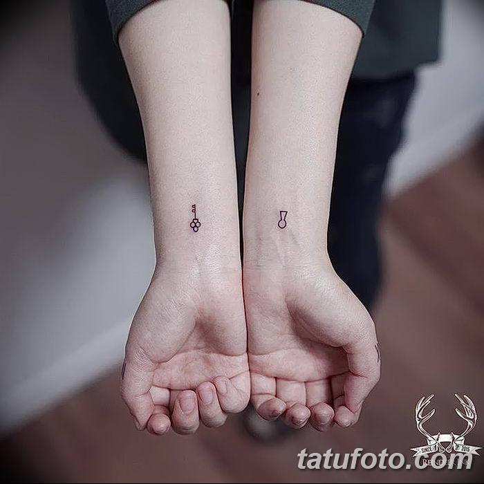 Фото тату замочная скважина 25.08.2018 №133 - keyhole tattoo - tatufoto.com
