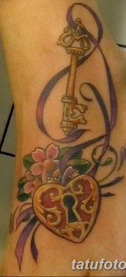 Фото тату замочная скважина 25.08.2018 №137 – keyhole tattoo – tatufoto.com