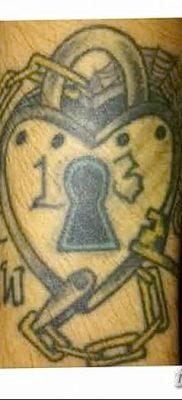 Фото тату замочная скважина 25.08.2018 №138 – keyhole tattoo – tatufoto.com