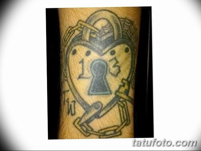Фото тату замочная скважина 25.08.2018 №138 - keyhole tattoo - tatufoto.com