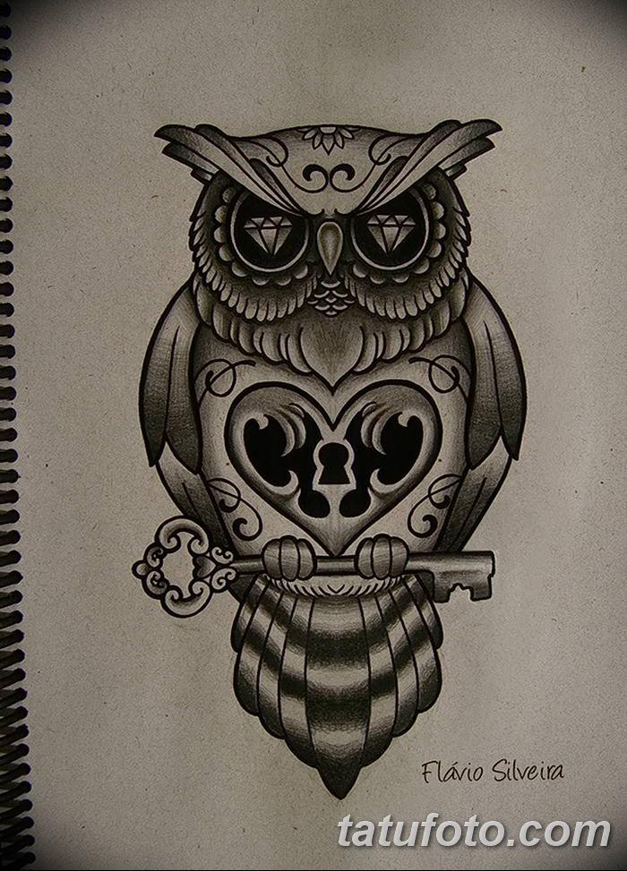 Фото тату замочная скважина 25.08.2018 №145 - keyhole tattoo - tatufoto.com