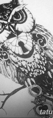 Фото тату замочная скважина 25.08.2018 №150 – keyhole tattoo – tatufoto.com
