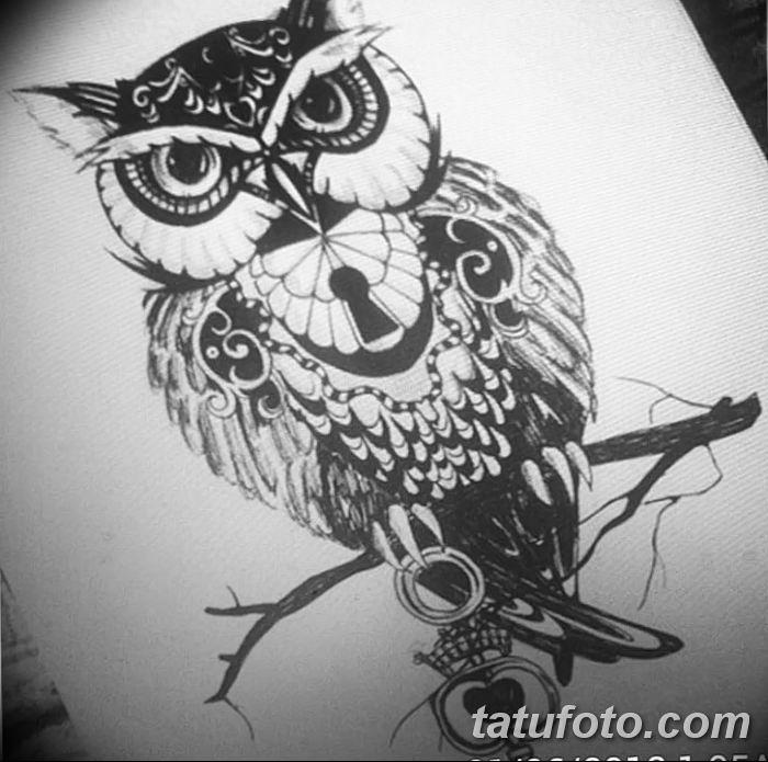 Фото тату замочная скважина 25.08.2018 №150 - keyhole tattoo - tatufoto.com