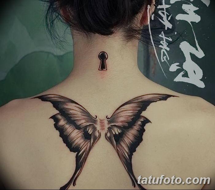 Фото тату замочная скважина 25.08.2018 №153 - keyhole tattoo - tatufoto.com