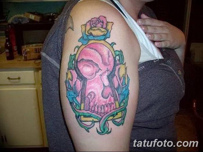 Фото тату замочная скважина 25.08.2018 №156 - keyhole tattoo - tatufoto.com